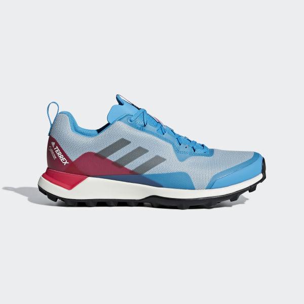 sports shoes a0be6 85444 TERREX CMTK GTX Schuh Ash Grey   Core Black   Shock Cyan BC0457