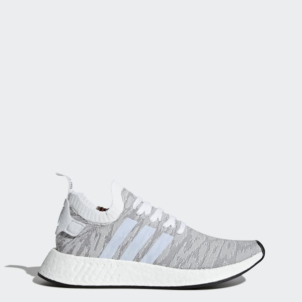 fdbe1e6d7 NMD R2 Primeknit Shoes Grey   Footwear White   Core Black BY9410