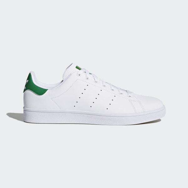 Stan Smith Vulc Shoes Ftwr White Ftwr White Green B49618 d5d354381