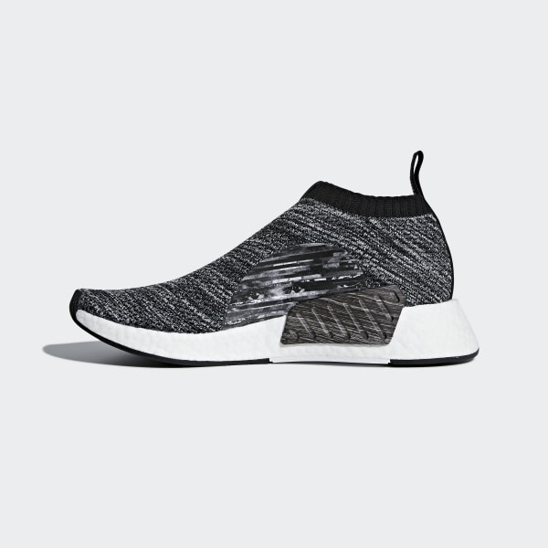 244cb15dc8537 UA SONS NMD CS2 Primeknit Shoes Core Black   Core Black   Cloud White DA9089
