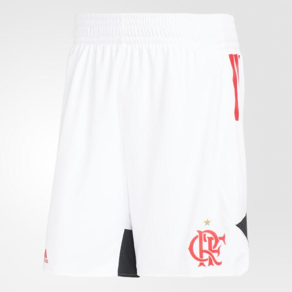 Bermuda Flamengo Swingman Away WHITE COLLEGIATE RED CW3270 36eff98136b01