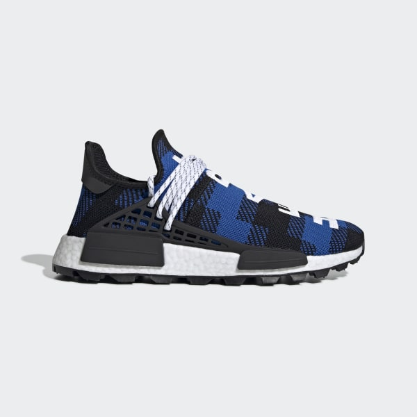 6525de43c2b17 BBC Hu NMD Shoes Power Blue   Core Black   Ftwr White EF7387