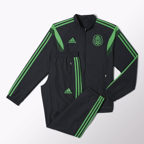 5b2ebae63e048 Pants con Sudadera Selección Mexicana de Fútbol Dark Shale Samba Green  F86623