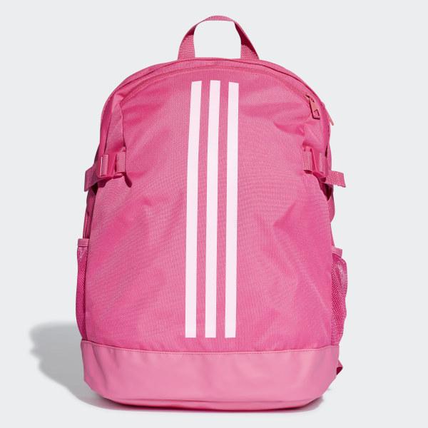 84f4ca2f56 3-Stripes Power Backpack Medium Real Magenta   True Pink   True Pink DU1992