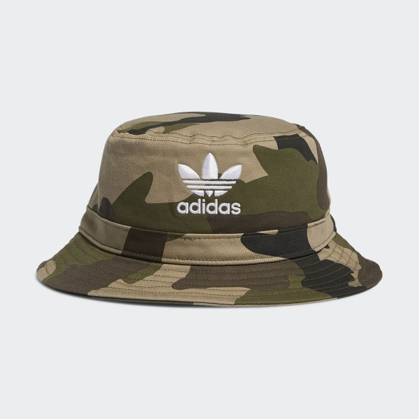 b23ae755579 Camo Bucket Hat Medium Green CK5060