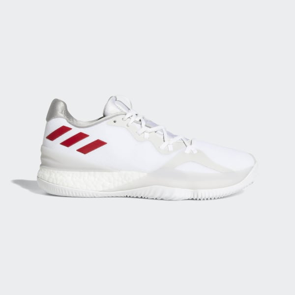 timeless design dd98a 66ff4 Crazylight Boost 2018 Shoes Ftwr White  Scarlet  Silver Met. AQ0007