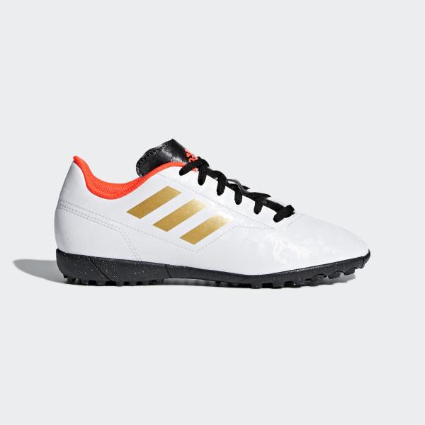 big sale 193fc b17fa Zapatos de fútbol Turf Conquisto II FTWR WHITE TACTILE GOLD MET. F17 SOLAR