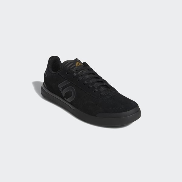 a35dc5c06a0 Chaussure de VTT Five Ten Sleuth DLX Core Black   Grey Six   Matte Gold  BC0658