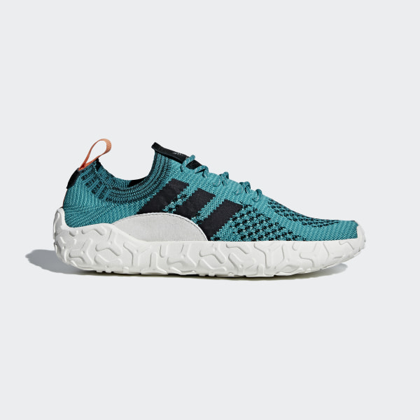 buy online e01e0 55862 F22 Primeknit Schuh TurquoiseCrystal WhiteTrace Orange AH2171