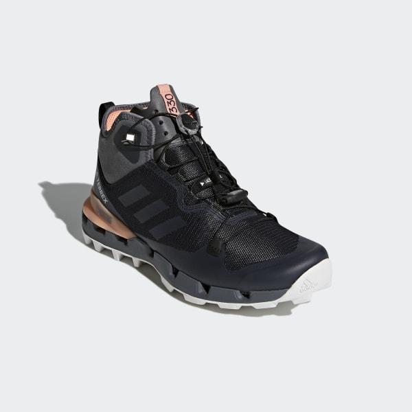 15b27a71d955c TERREX Fast Mid GTX-Surround Shoes Core Black   Grey Five   Chalk Coral  AH2250