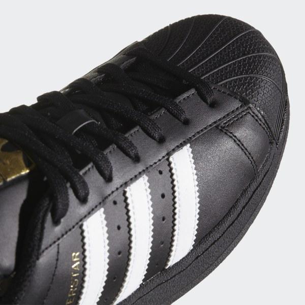 3cc9a2ca97c Superstar Foundation Shoes Core Black   Cloud White   Core Black B27140