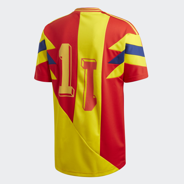 Colombia Mash-Up Jersey Purple Yellow   Scarlet CD6956 426bf571e
