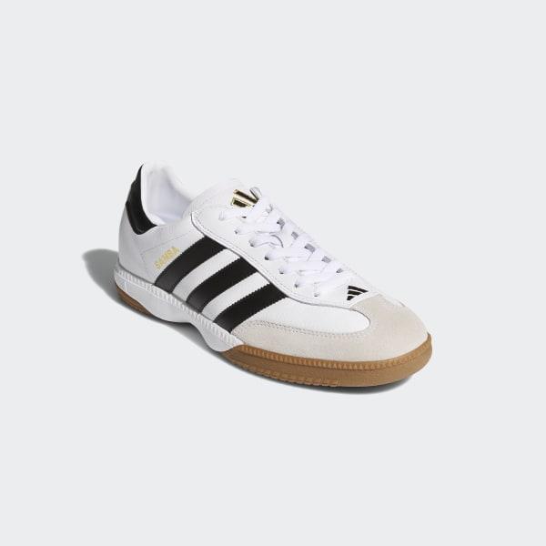 bbd66b48bbf7e Samba Millennium Shoes Cloud White   Black   Gold 661694