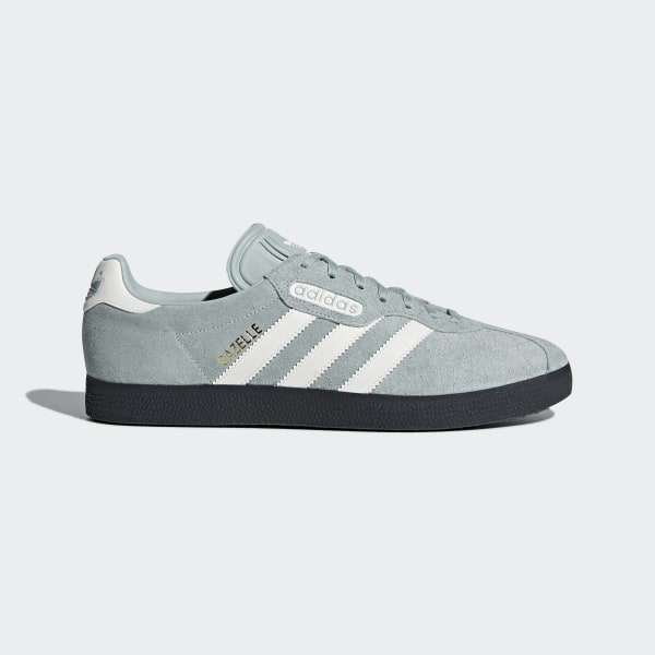 online store 0f017 a83d5 Gazelle Super Shoes Tactile Green  Off White  Carbon CQ2796