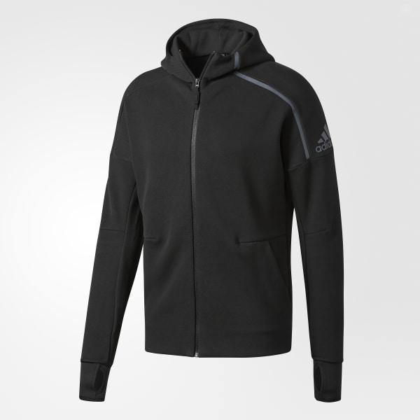 1b27440c40c adidas Z.N.E. Hoodie Black B48879