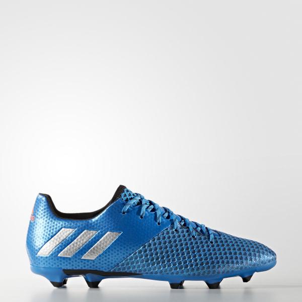 Calzado Fútbol Messi 16.2 FG SHOCK BLUE MATTE SILVER CORE BLACK AQ3111 248902772538c
