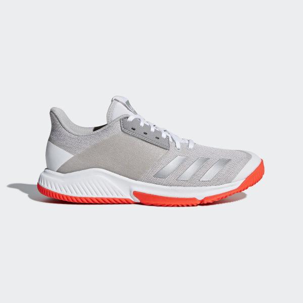 best service ed3d7 b551f Crazyflight Team Shoes Cloud White  Silver Metallic  Grey Two CP8896