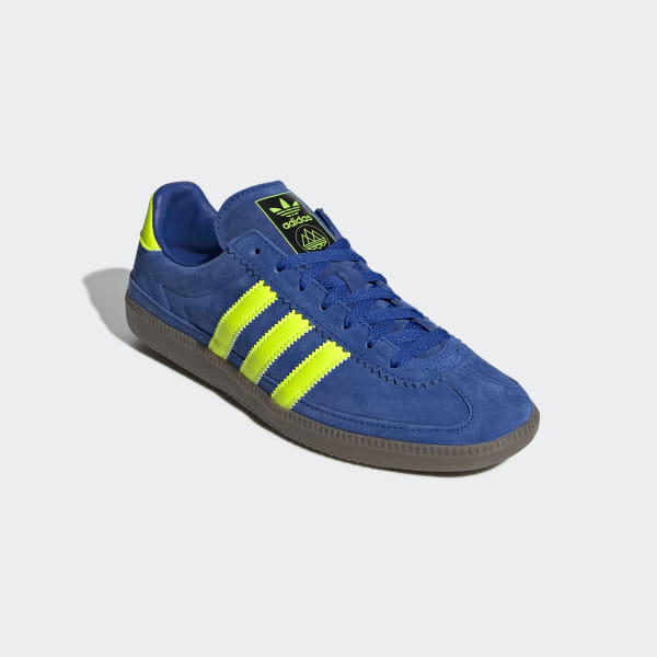 Whalley SPZL Shoes Active Blue   Semi Solar Green   Easy Yellow F35717 b2c83f2399
