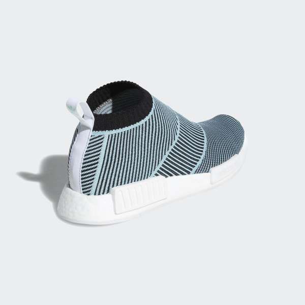 20fc1a611 NMD CS1 Parley Primeknit Shoes Core Black   Core Black   Blue Spirit AC8597