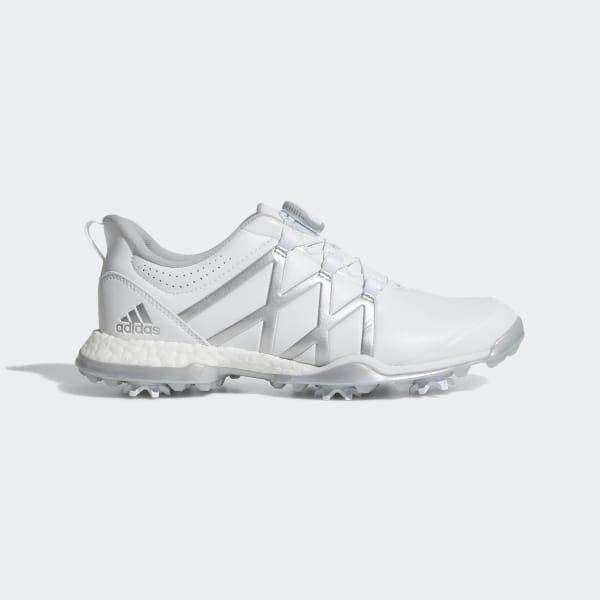 the best attitude 199ec c7e50 Adipower Boost Boa Shoes Cloud White   Matte Silver   Matte Silver Q44745