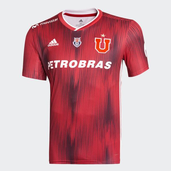 Camiseta de Visitante Universidad de Chile - Rojo adidas  3b8966aa0c4f3