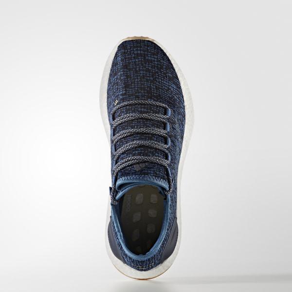 cheaper 5c49f 5971b Pure Boost Shoes Core Blue   Linen   Night Navy BA8896