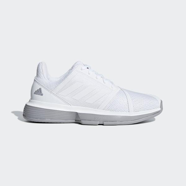 online retailer 512f9 3efa1 CourtJam Bounce Skor Ftwr White  Ftwr White  Light Granite CG6354