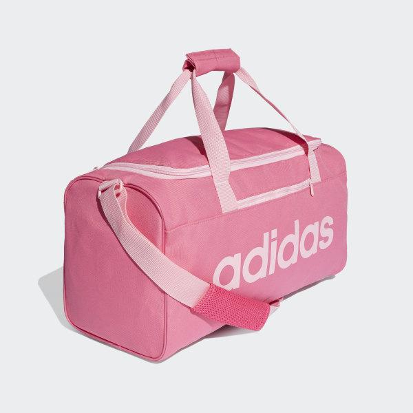 Linear Core Duffel Bag Small Semi Solar Pink   True Pink   True Pink DT8624 03ca46c744619