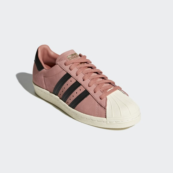 release date 117f2 dcd53 Superstar 80s Shoes Ash PinkCore BlackCream White CQ2513