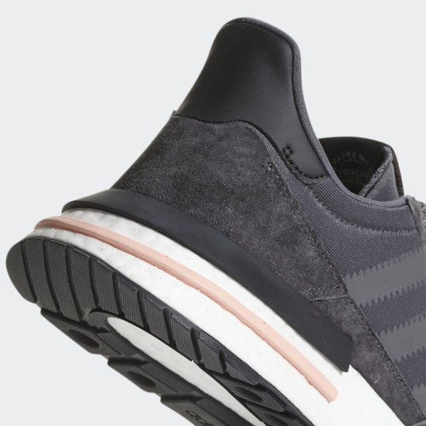 41d5608d7 ZX 500 RM Shoes Grey Five   Ftwr White   Clear Orange B42217