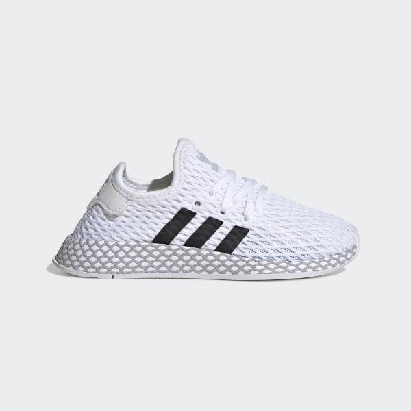 300825e406452e Deerupt Runner Shoes Ftwr White   Core Black   Grey Two F34297