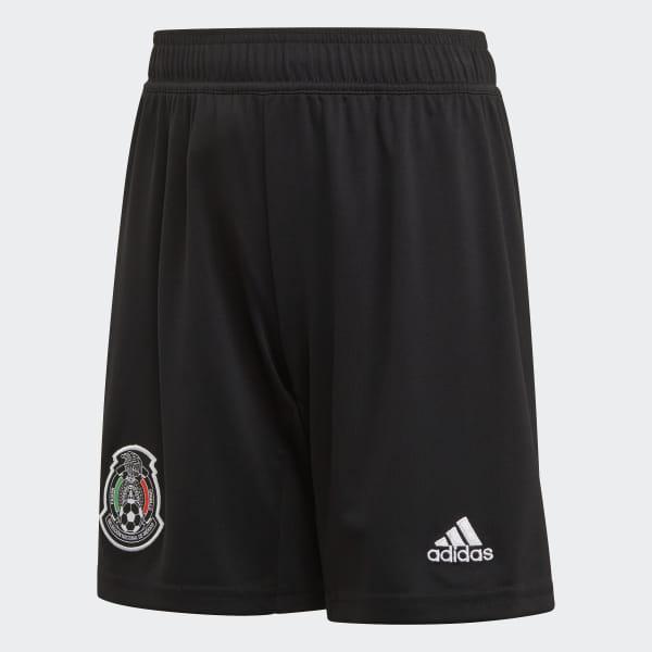 7a765a1a94b7f Shorts Uniforme Titular Selección de México 2019 Niño black   white DP0213