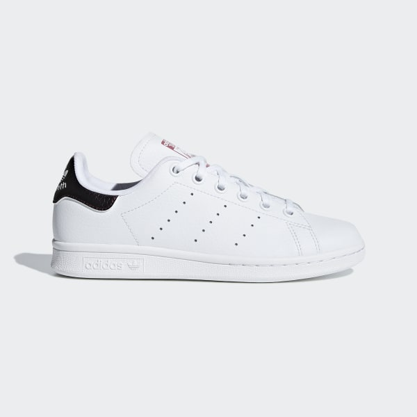reputable site ff683 c6164 Tenis STAN SMITH J FTWR WHITE FTWR WHITE TRACE MAROON F18 B37186
