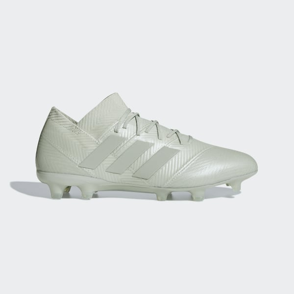 Bota de fútbol Nemeziz 18.1 césped natural seco Ash Silver   Ash Silver    White Tint dc7700479289e