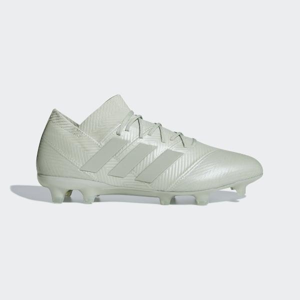 another chance 7b4f0 9cc2a Scarpe da calcio Nemeziz 18.1 Firm Ground Ash Silver  Ash Silver  White  Tint DB2081