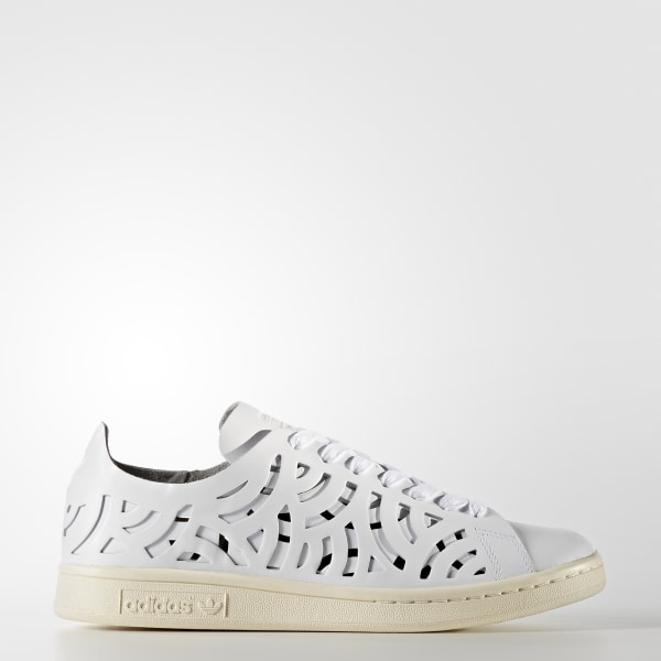 outlet store eaa42 35336 Tenis Stan Smith Cutout Cortes Geométricos Mujer FTWR WHITE FTWR  WHITE CREAM WHITE BB5149
