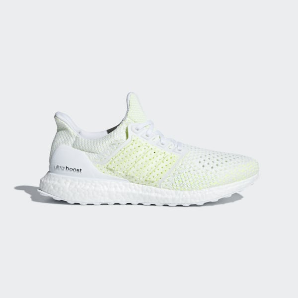 82ee0590821cc Ultraboost Clima Shoes Cloud White   Cloud White   Solar Yellow AQ0481