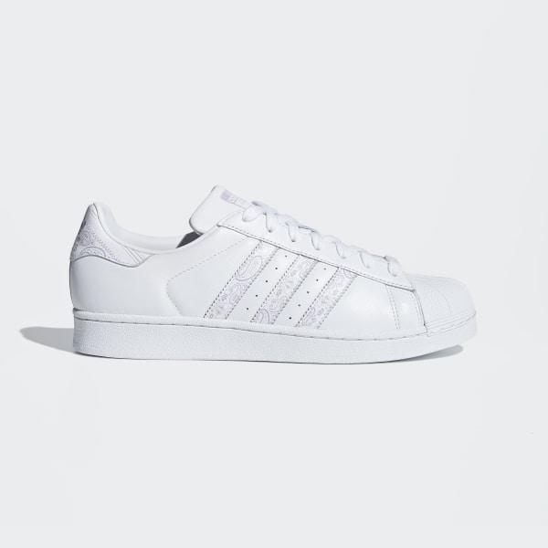 detailed look 449ce 7db50 Superstar Shoes Ftwr White   Purple Glow   Ftwr White BD7429