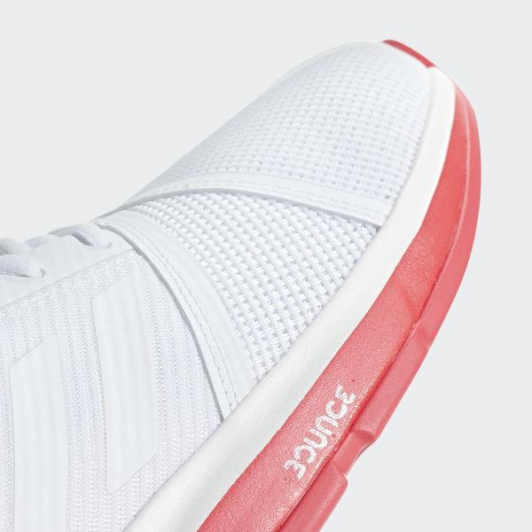 CourtJam Bounce Shoes Ftwr White   Ftwr White   Shock Red CG6325 2f7e267d8