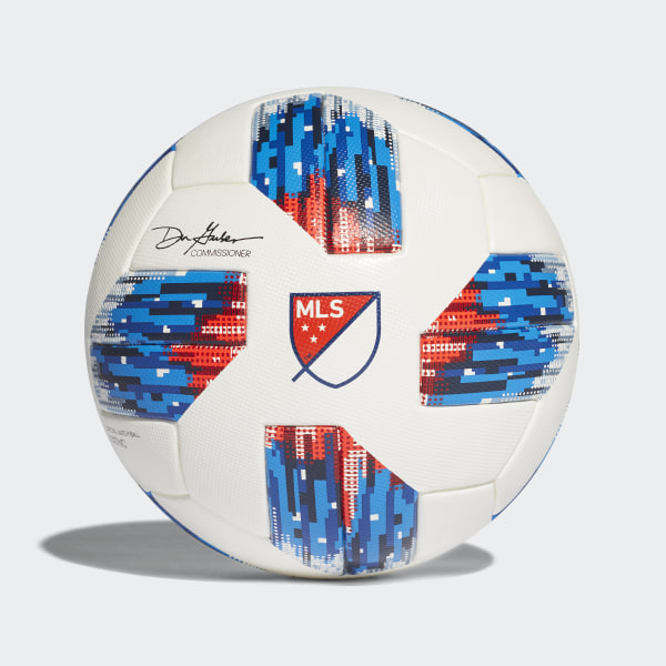 1ee87466253d MLS Official Game Ball White   Ash Blue   Night Indigo   Power Red CF0010
