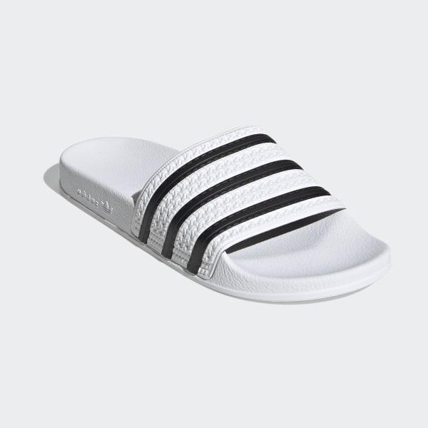 adilette Slides White Core Black White 280648 b92d2bd47e4e8