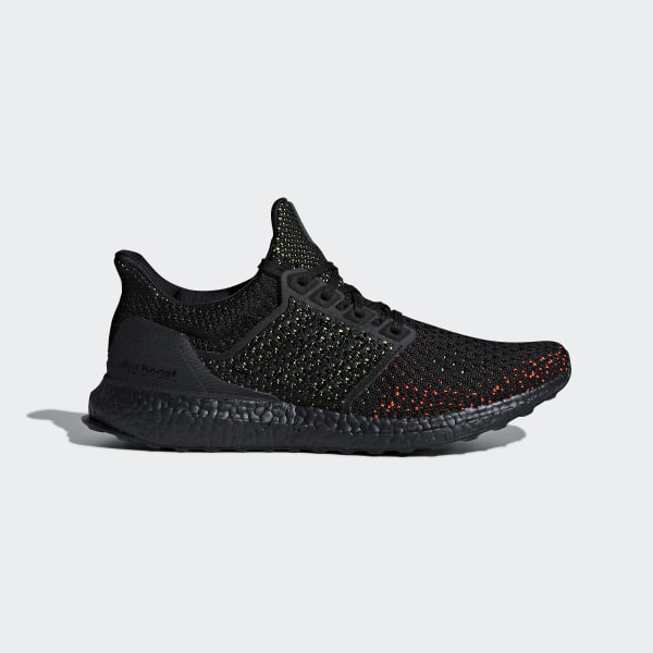 58dbdea5f13f1 Ultraboost Clima Shoes Core Black   Core Black   Solar Red AQ0482
