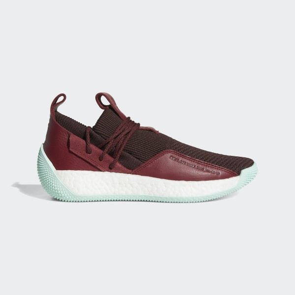 sale retailer b51ba 84fc0 Harden Vol. 2 LS Shoes Night Red   Noble Maroon   Clear Mint CG6277
