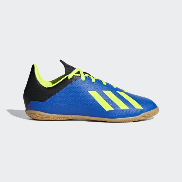 445a5aabc539 Chuteira X Tango 18.4 Futsal FOOTBALL BLUE SOLAR YELLOW CORE BLACK DB2431