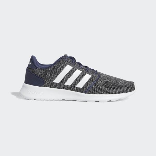 bf5faabae4dc62 Cloudfoam QT Racer Shoes Trace Blue   Cloud White   Core Black B37409