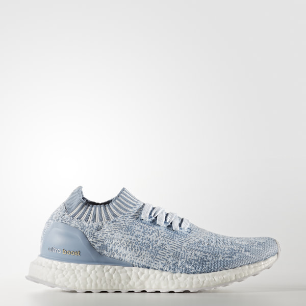 d9154c6f28 Tênis Ultra Boost Uncaged CRYSTAL WHITE TACTILE BLUE EASY BLUE BA7840