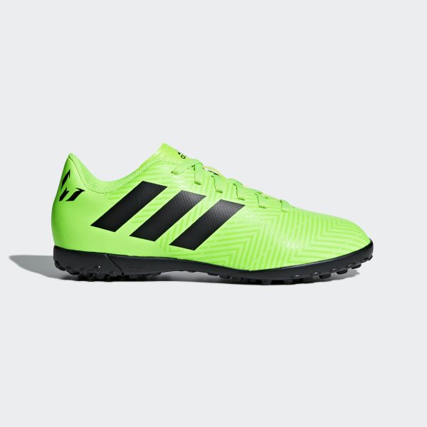 Chuteira Nemeziz Messi Tango 18.4 Society SOLAR GREEN CORE BLACK SOLAR  GREEN DB2402 ba1946b670405