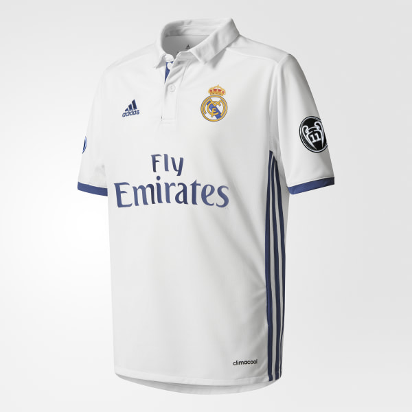 d64f0e56f2837 Jersey Local Real Madrid UCL CRYSTAL WHITE CRYSTAL WHITE OFF WHITE AI5191