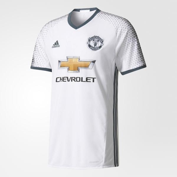 7fa10ea0717 Manchester United FC Third Jersey White   Bold Onix AI6690