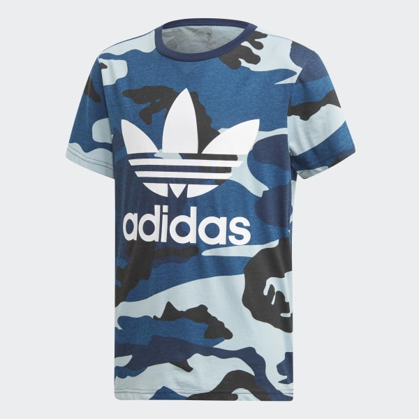 6d597d429b84f2 Camouflage Tee Multicolor   White DW3829